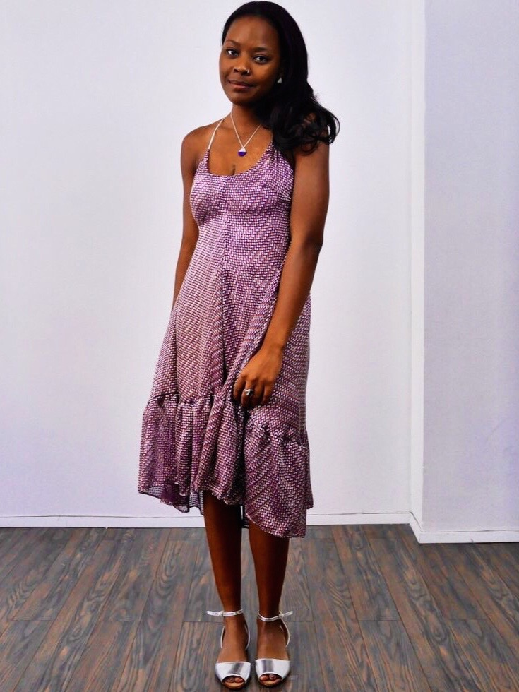 New Styles - Meet our model: Writer and Director Gabrielle Shepard