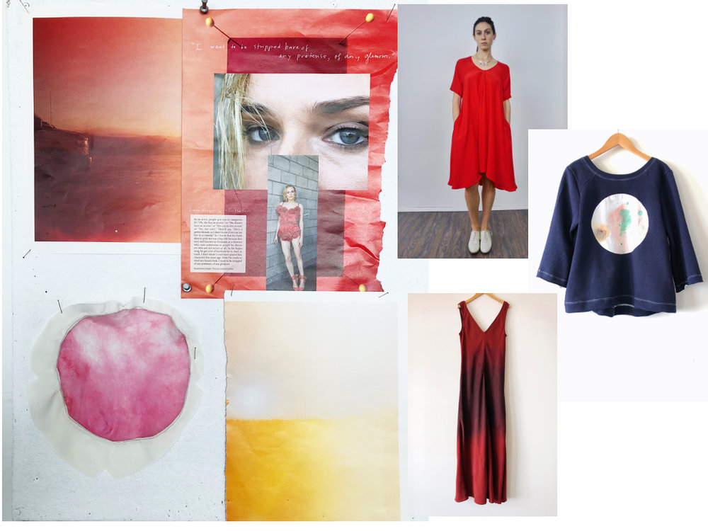 Crimson Moon - Mood Board