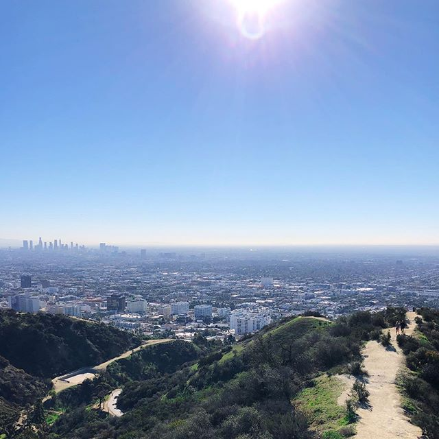 Hiked Runyon today for the first time in a while.  As we went up, it felt like the path and city in view behind were my accomplishments and the steep hill ahead with little visibility was a new challenge.  The fresh air and sun were fine to be in along the way. Happy new years ! 🥳to new challenges and climbing greater hills in 2019 ✌🏼🌿🏞