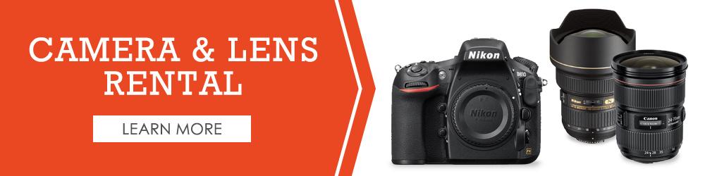 Camera & Lens Rentals — Richmond Camera Shop