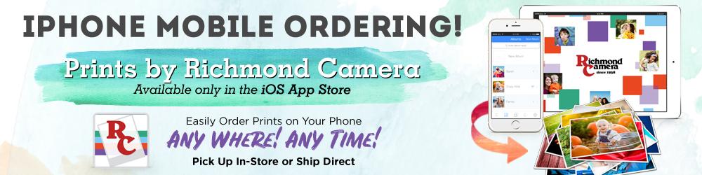 iPhone Photo Print Ordering App