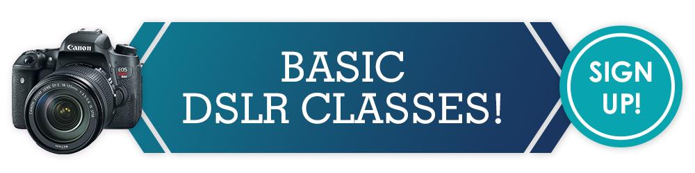 Basic DSLR Classes At Richmond Camera
