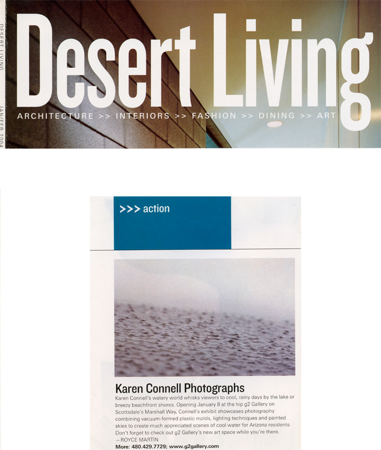 Scene 2  Published in Desert Living 2009.