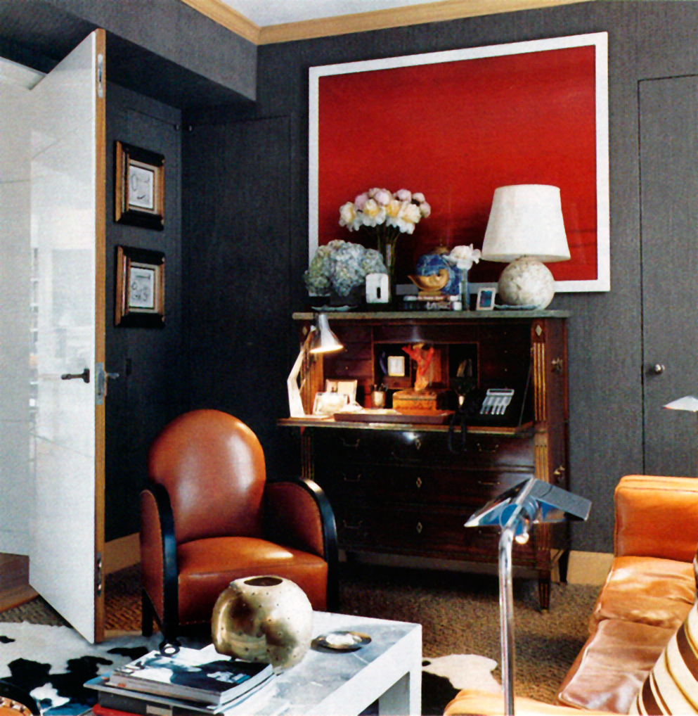 Scene 5  Published in  Elle Deco r October 2009.  Home of designer  David Netto