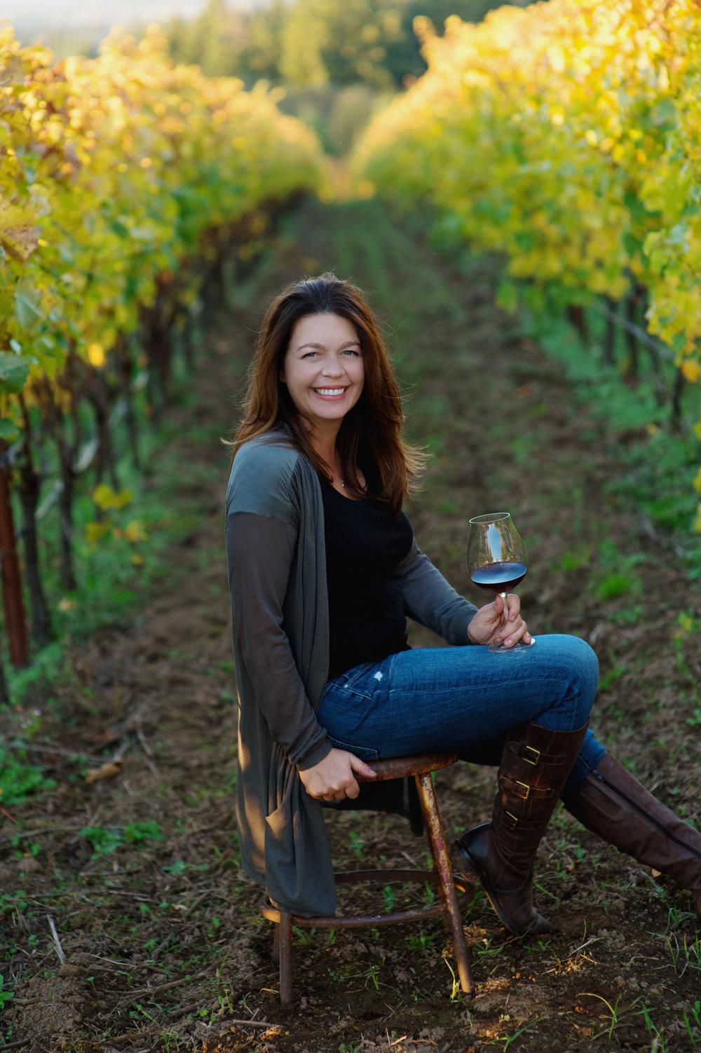 Ponzi winemaker Luisa Ponzi