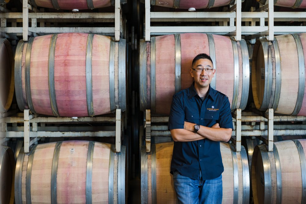 Kris Kato, winemaker for Carmel Road