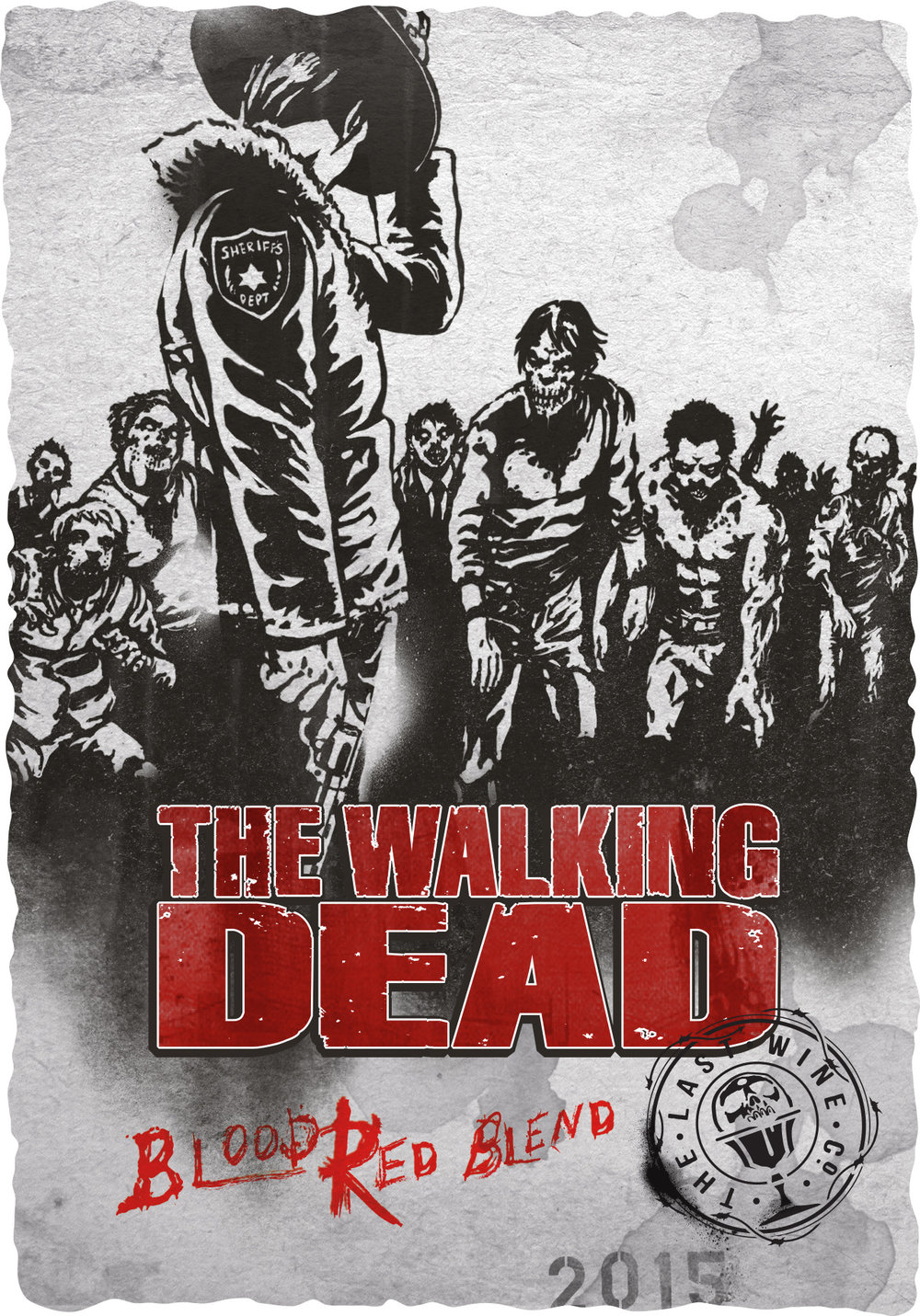 2015 The Walking Dead Blood Red Blend front label.jpg