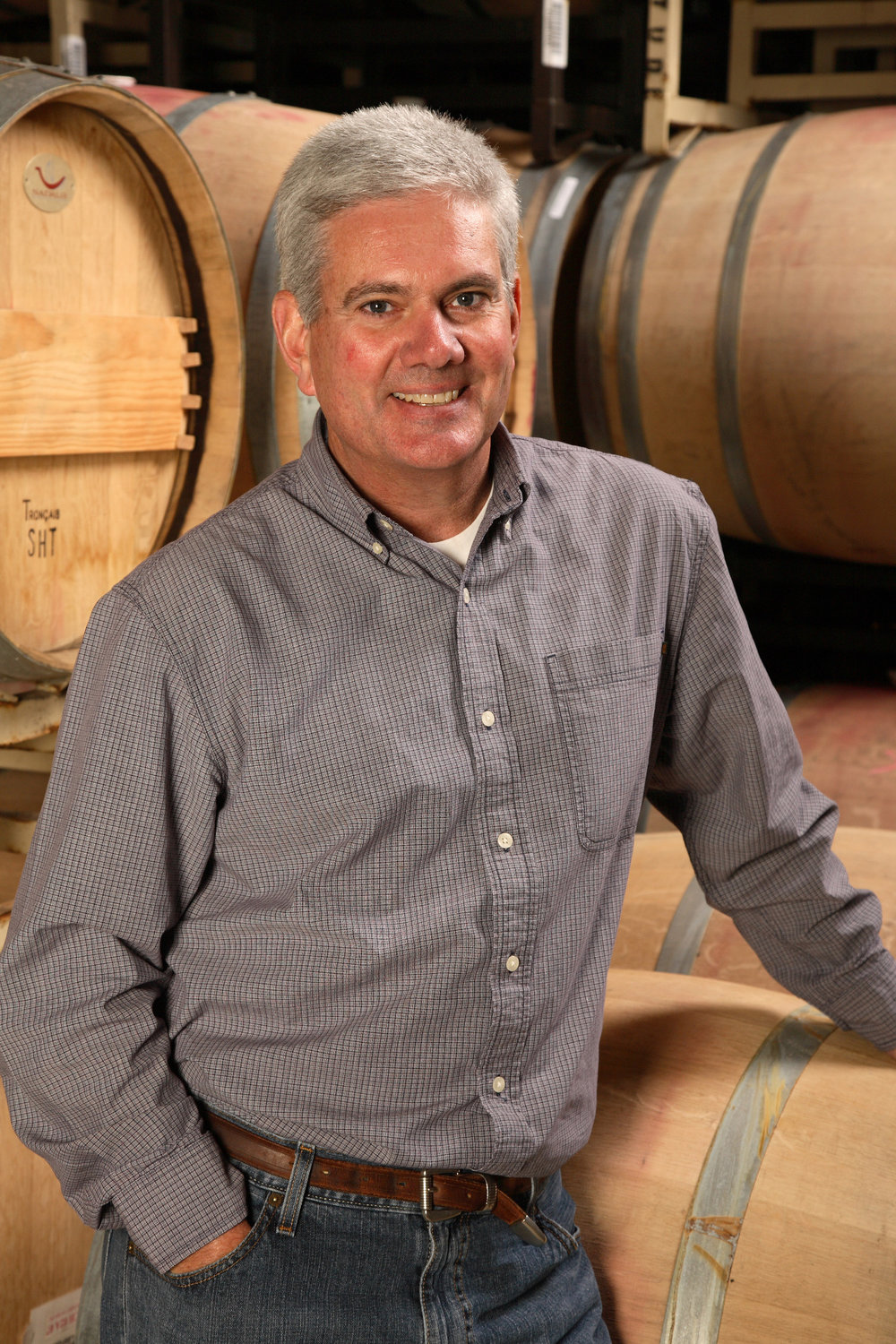 Etude winemaker Jon Priest