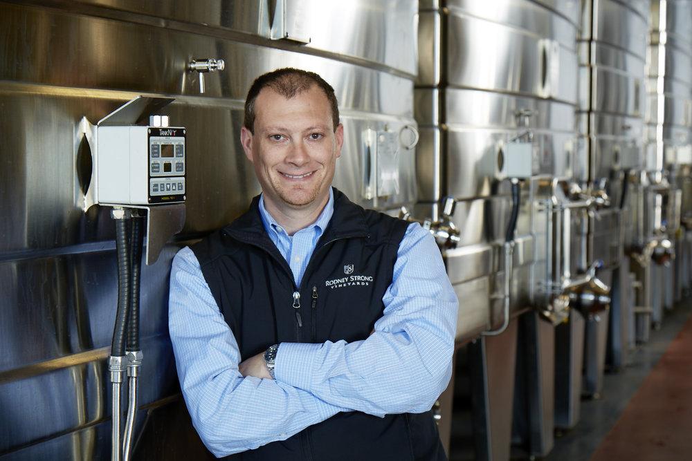 Justin Seidenfeld, winemaker at Rodney Strong
