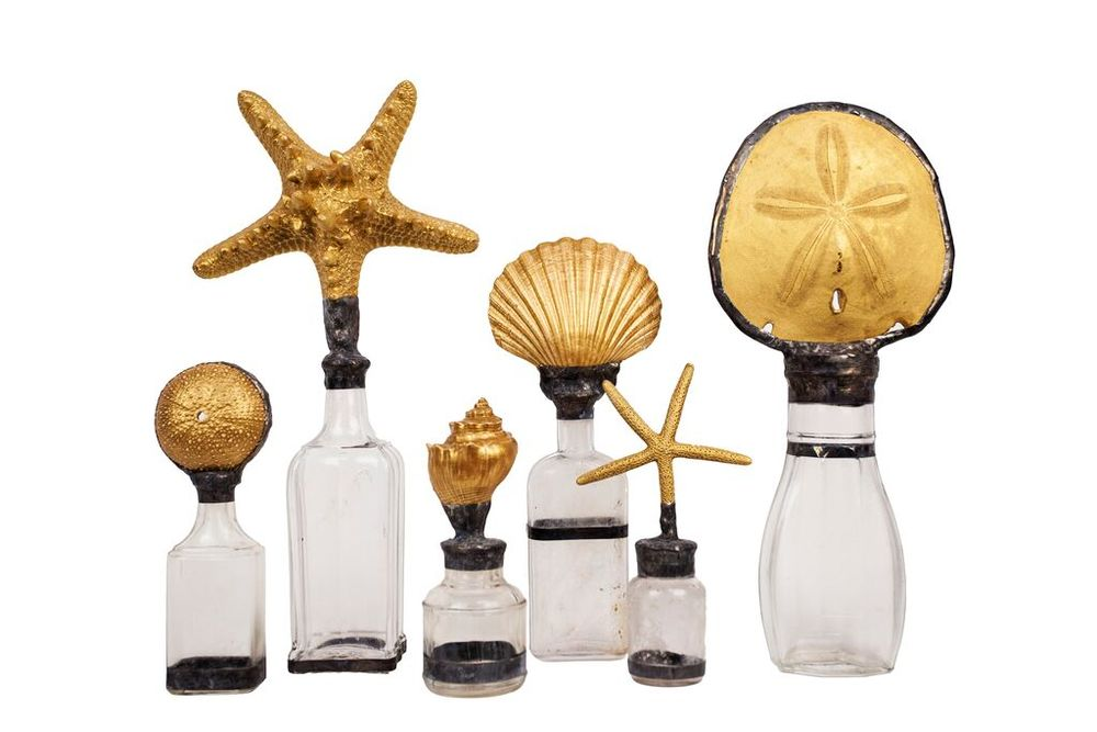 GOLD SHELL BOTTLE COLLECTION sugg. retail $88.00 to $198.00