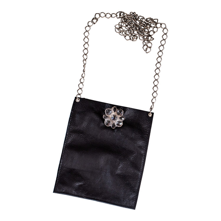CHAIN BAG BLK sugg. retail $258.00