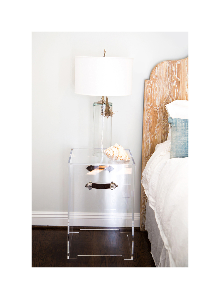 BELLA SIDE TABLE WITH FEET sugg. retail $2,768.00