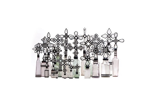 CRYSTAL BOTTLE COLLECTION sugg. retail $2900.00