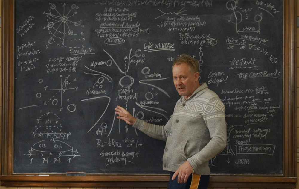 The scenes with Dr. Selvig are hands-down the funniest part of the film.