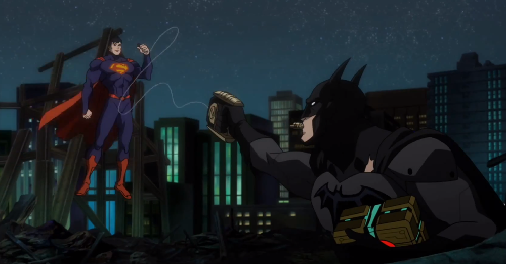 "Batman meets Superman and neither character bothers to display a moment of intelligence that the old versions would offer. Instead--it's ""Let's Fight!"""