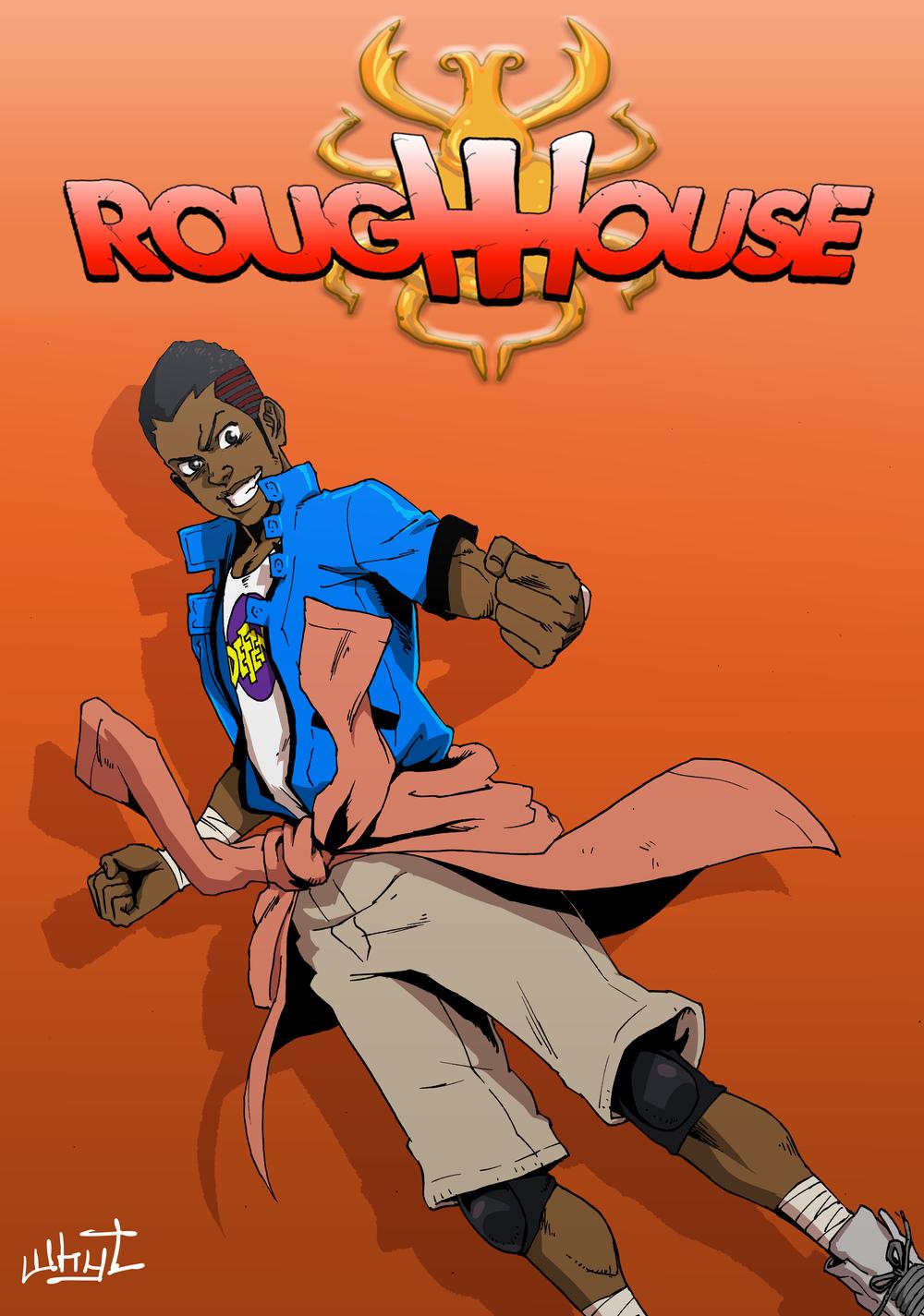 ROUGH HOUSE art by Whyt Manga, ROUGH HOUSE (c) Jordan Cook 2014