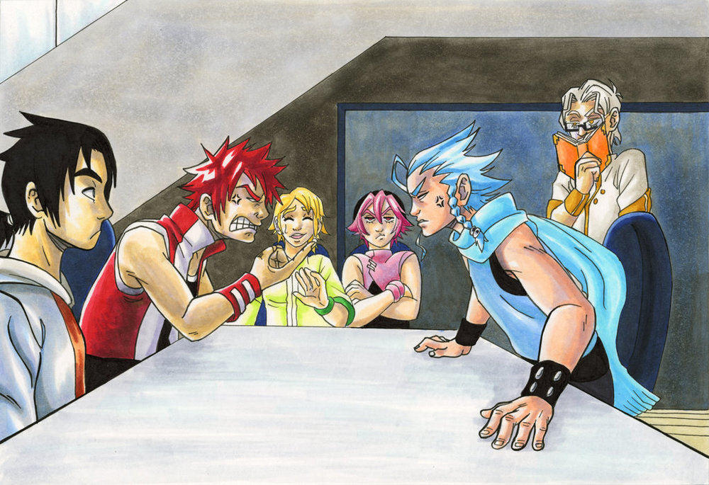 By George Brooks, BluestormGeo United States. http://bluestormgeo.deviantart.com/art/Whyt-Manga-Drawing-2014-Contest-Entry-429436873