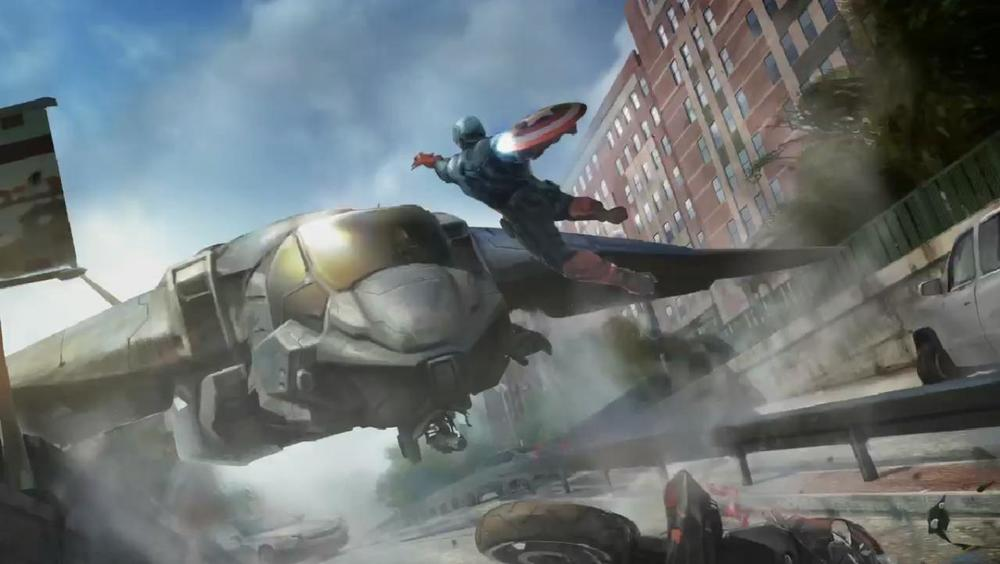 Captain America: The Winter Soldier delivers on BIG ACTION!