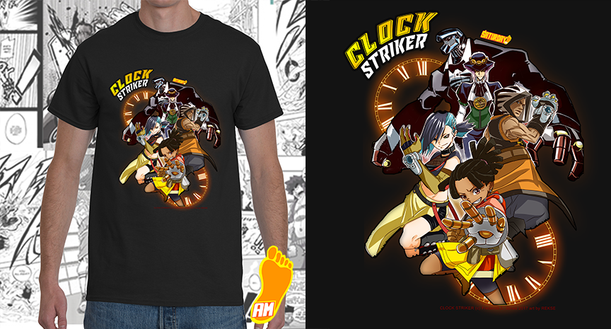 COMPLETE Clock Striker Group Shot Hot Tee.png
