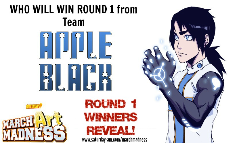 TEAM APPLE BLACK WINNERS ARE LISTED BELOW FROM 142 total votes (not counting Staff)