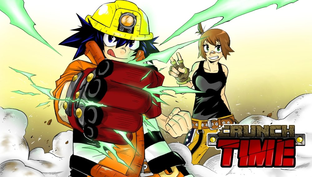 CRUNCH TIME is an exciting and fun EXCLUSIVE shonen manga by Deyan Tularchevic.