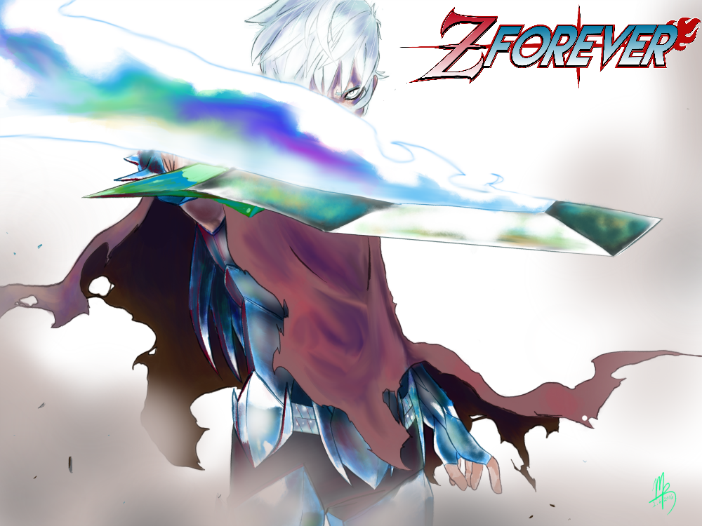Z FOREVER is a spiritual, action influenced EXCLUSIVE shonen manga by Mark Reid