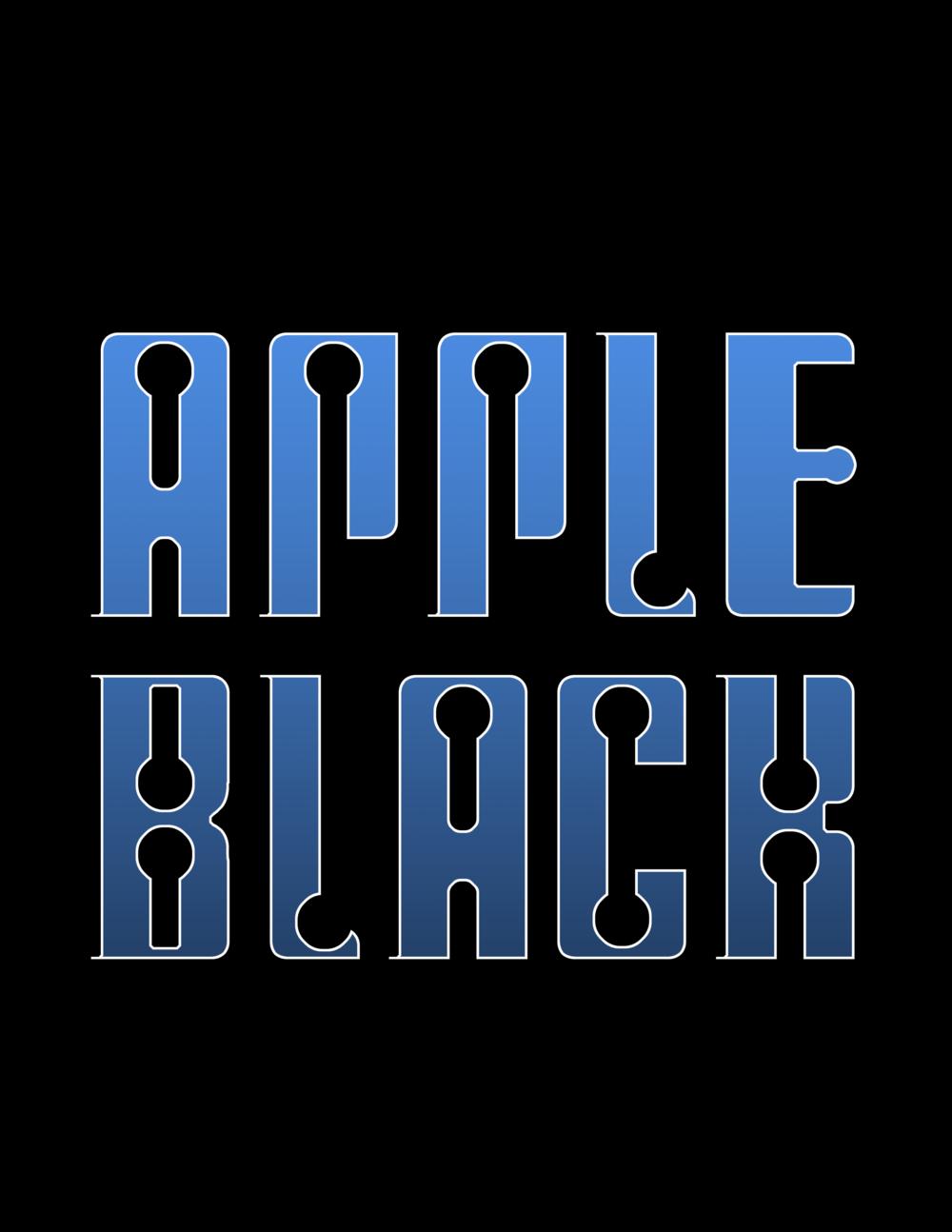 Apple Black Blue Logo.png