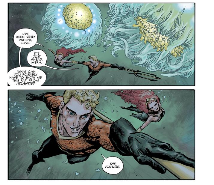From DC Comics AQUAMAN Annual #1 (Rebirth)