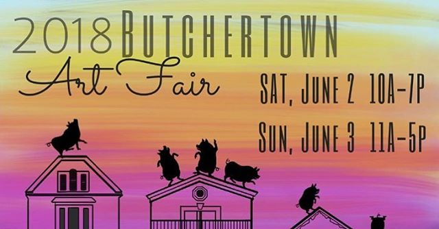 Join BTP for the Butchertown Art Fair at the 800 and 900 blocks of East Washington Street! Come and support your local businesses🎉 #shoplocal #supportwomen