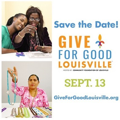 ⭐️SAVE THE DATE⭐️ Mark your calendars for the biggest day of local giving! #giveforgoodlou