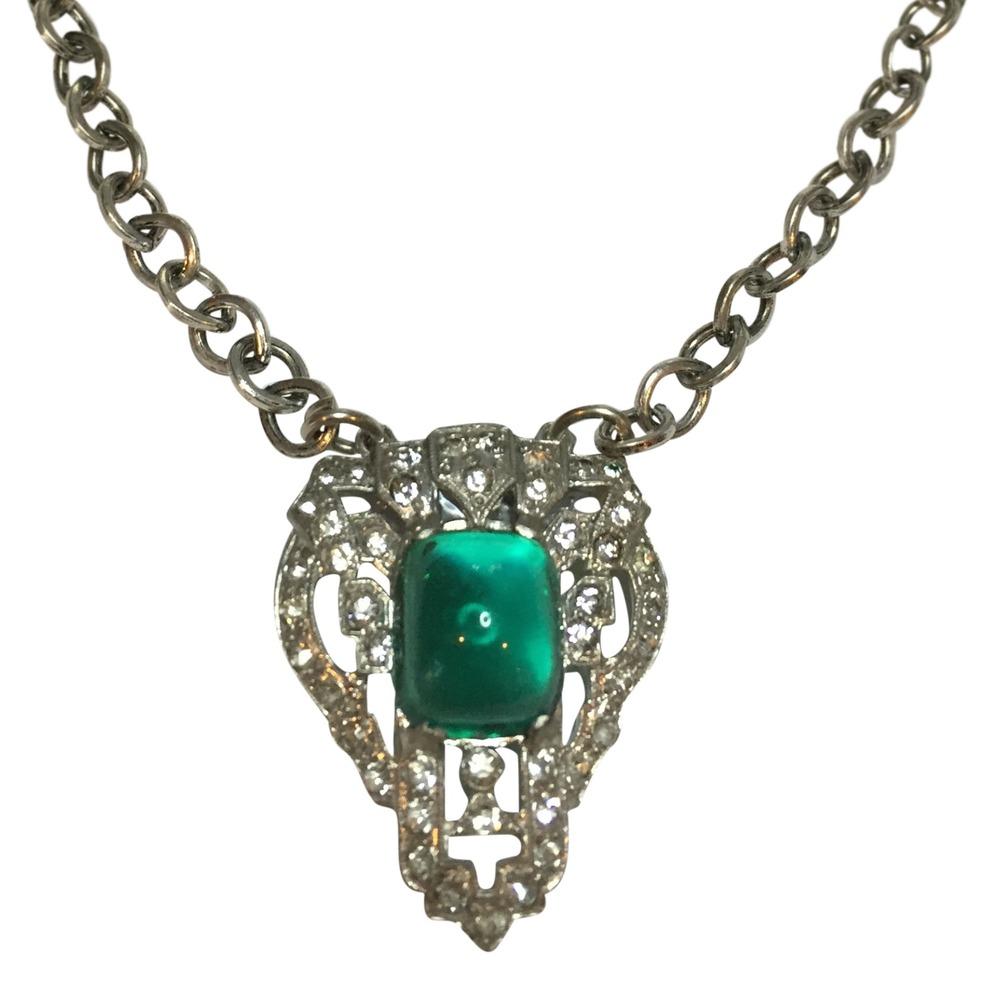 Click photo to shop necklaces.
