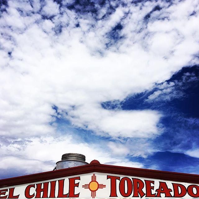 Best taco stand in #santafe ? #elchiletoreado #newmexico