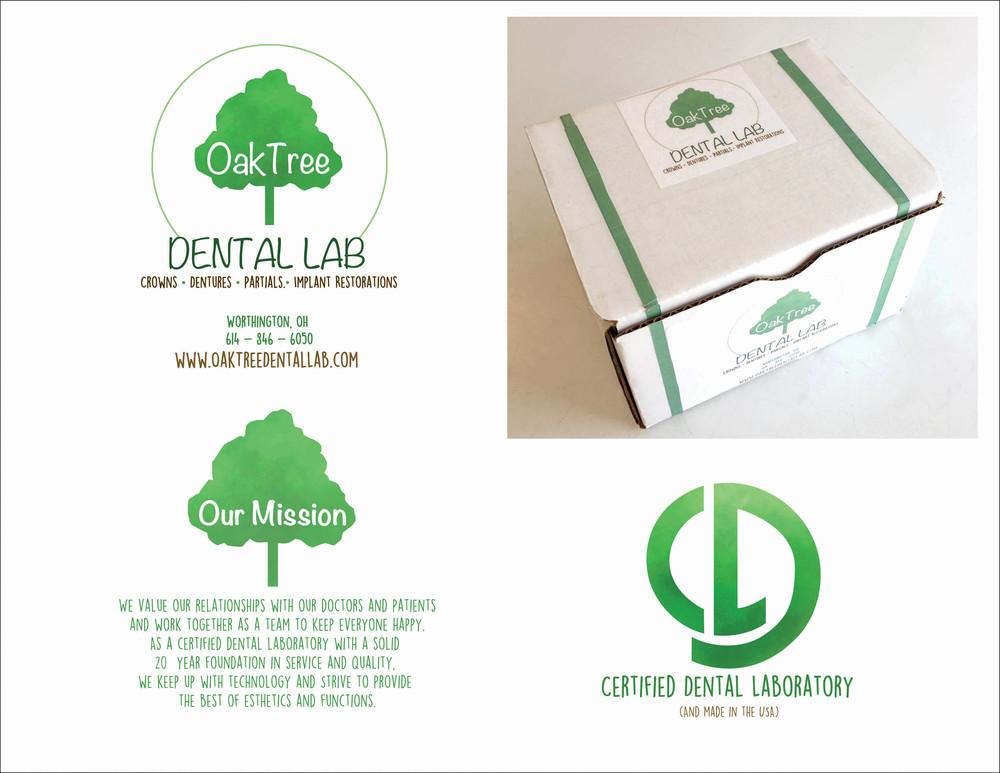 ReBranding Oak Tree Dental Lab