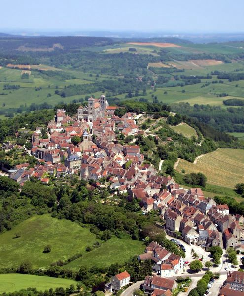 Picturesque-Vezelay