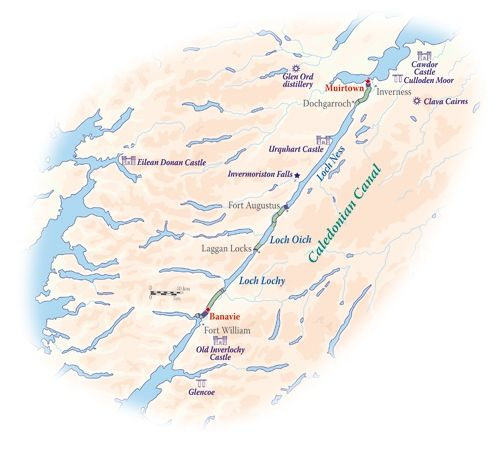 Scottish Highlander itinerary