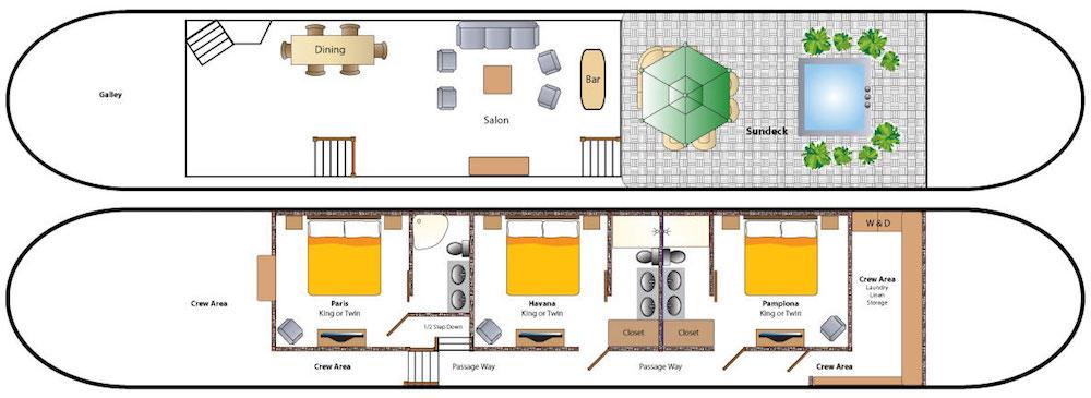 Grand Victoria Deck Plan