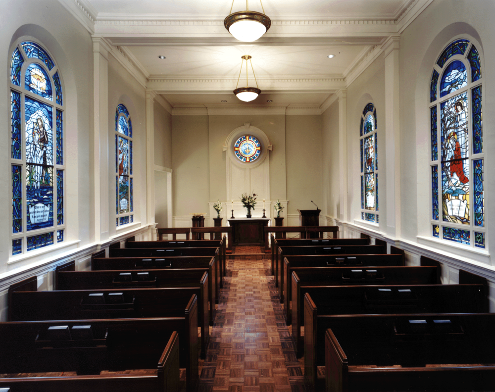 Tarrytown Chapel Renovation Jackson Galloway Architects