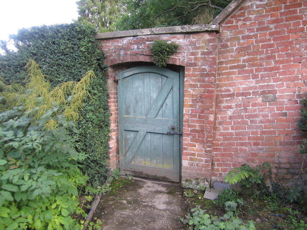 The property is full of little mysteries like this tiny door in the garden wall. I half expected to walk into Narnia on the other side.