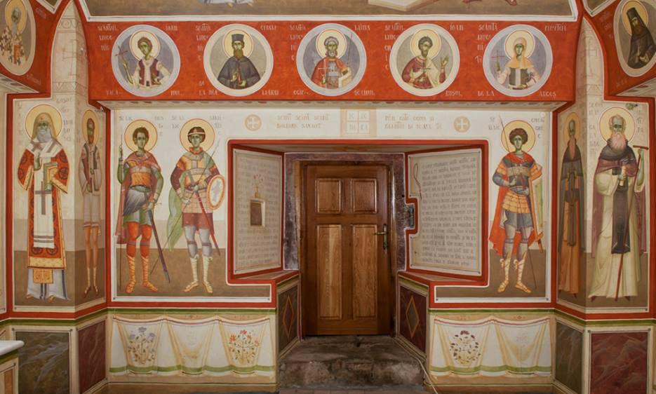 Mihai Coman and Gabriel Toma Chituc, Brazi Hermitage