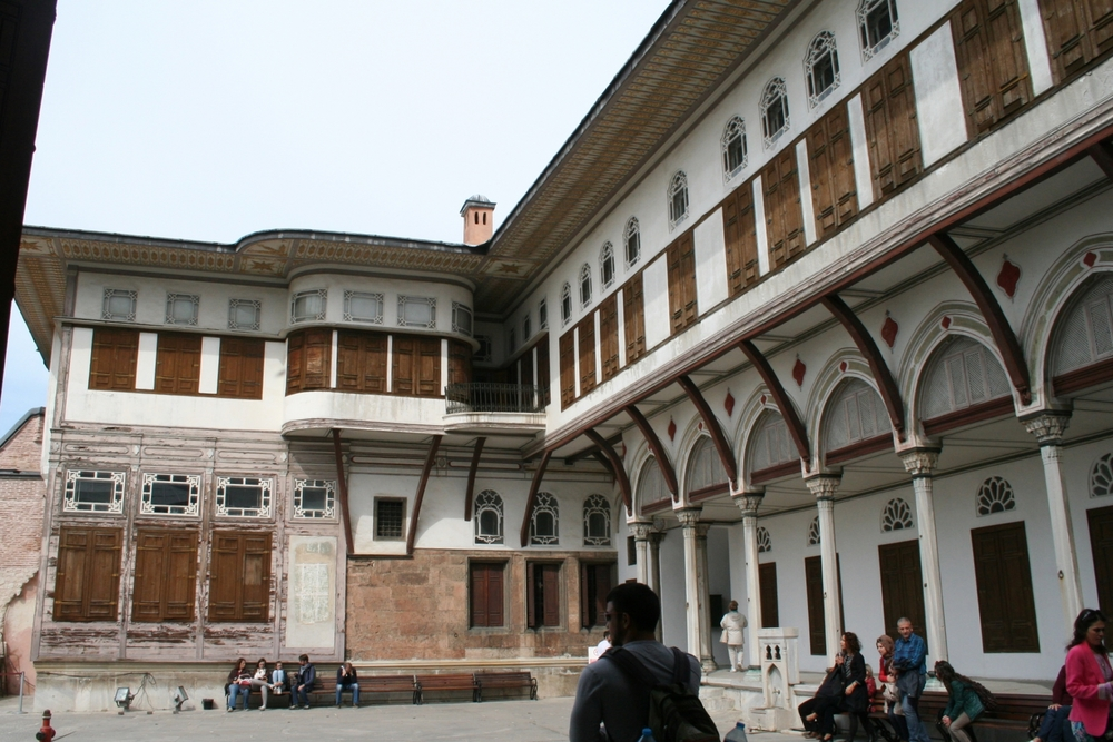 Harem - Courtyard of the Favorites
