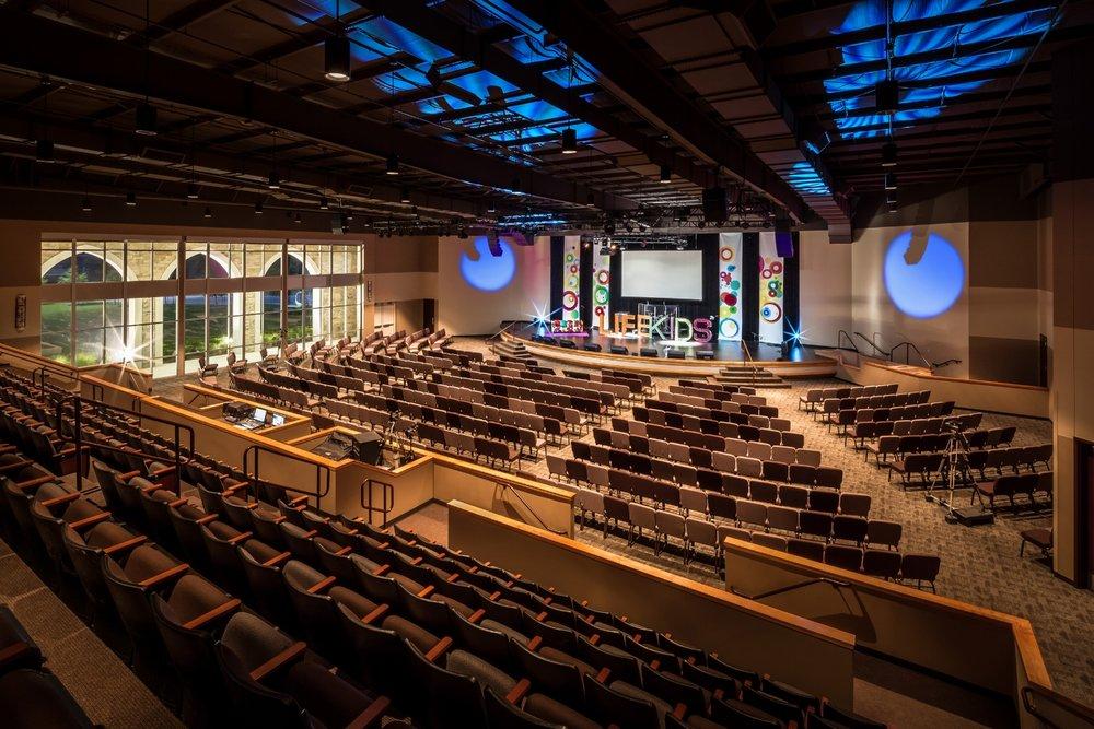 Contemporary Church Floor Plans Joy Studio