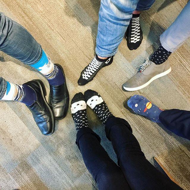 #Funsockfriday at the office today! #socksituation #diditforthegram