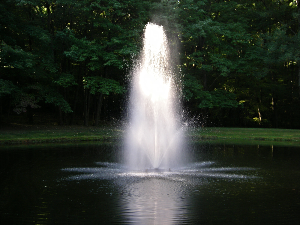 Fountain Aeration