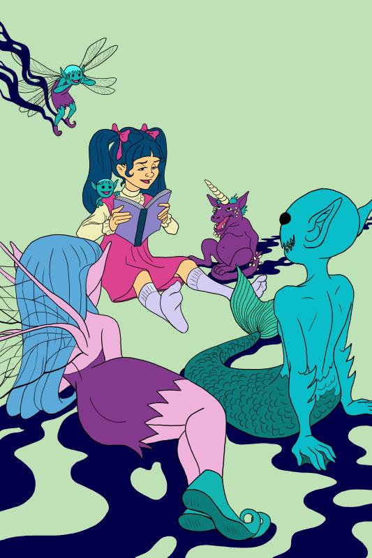 Monster Artist Pinup Read spoof flats_800 px.jpg