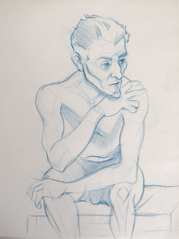 Life Drawing at Kagan's April 13, 2015