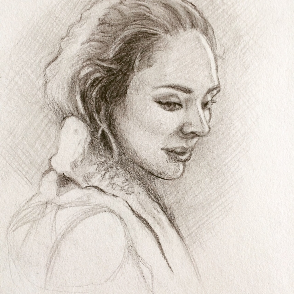 TV Sketching - Outlander