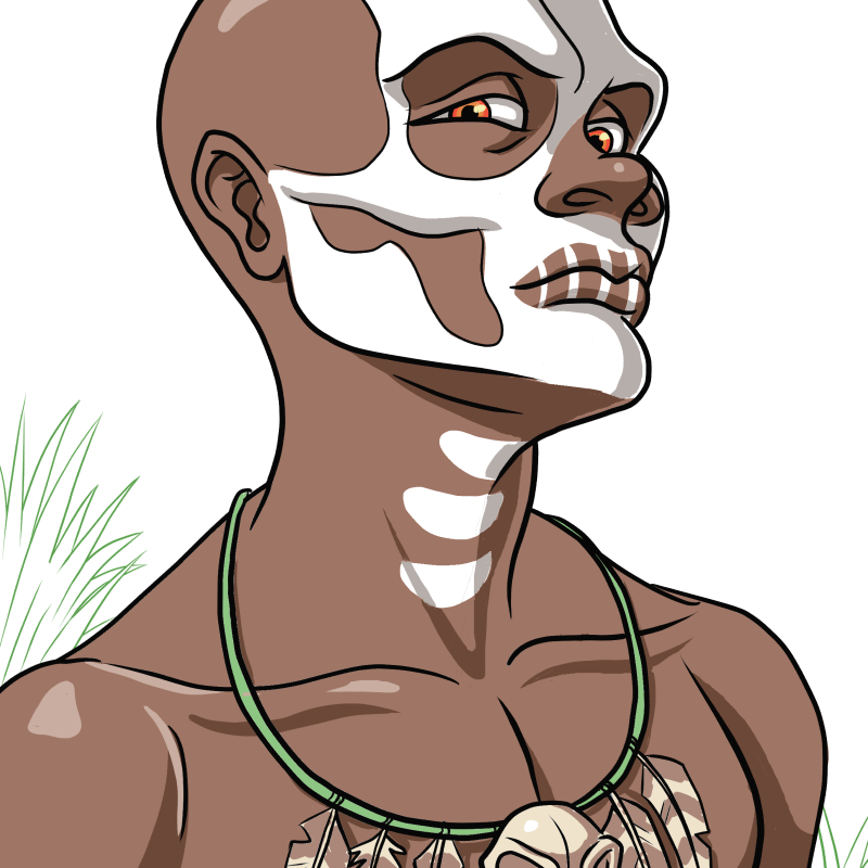 Green Gold and Black_obeah man concept.jpg