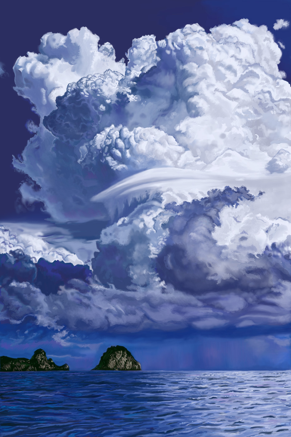 Cumulous Clouds Practice