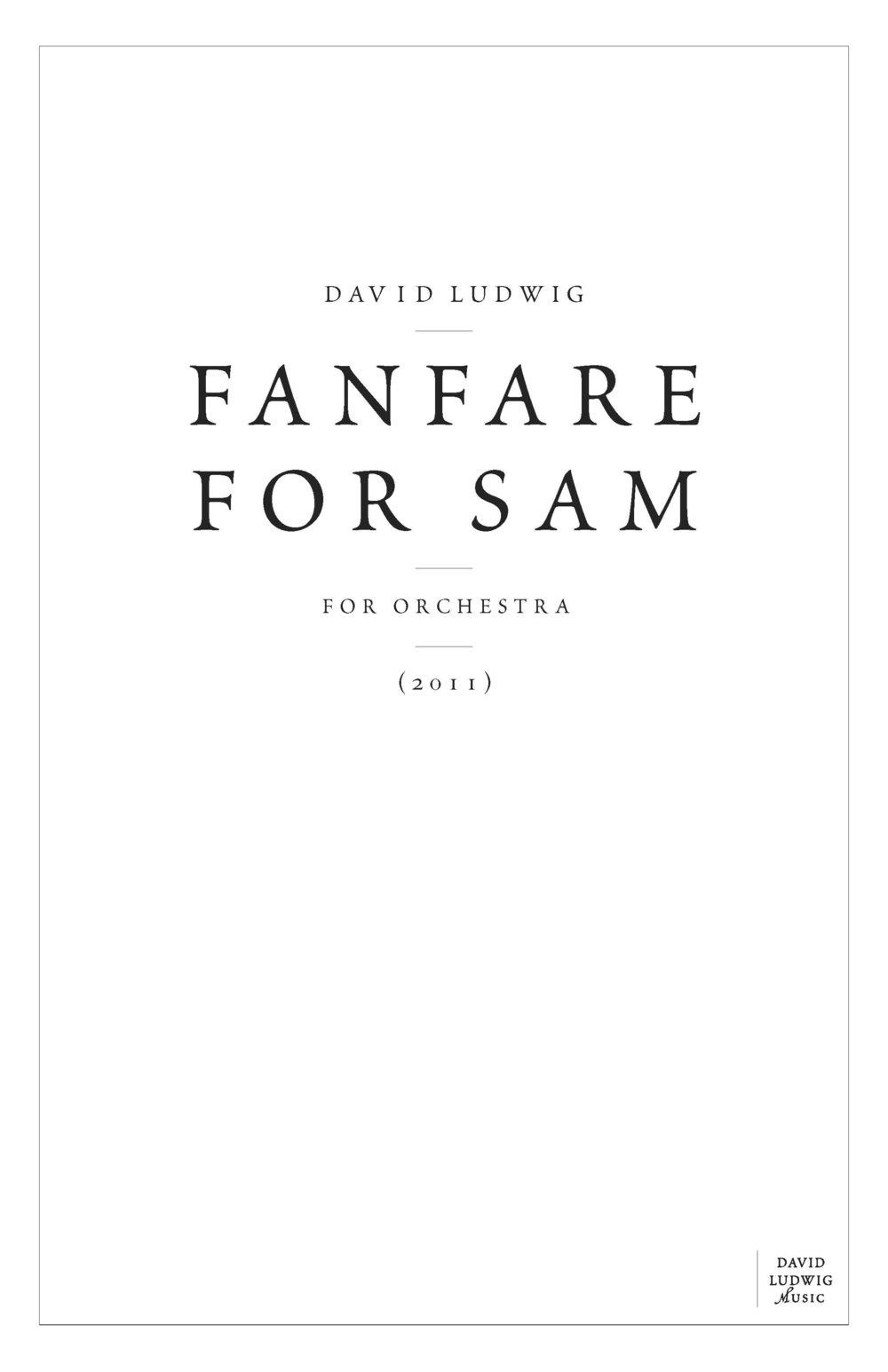 Fanfare for Sam cover.jpg