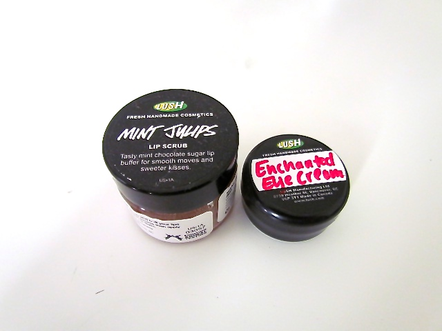 Lush Mint Julips Lip Scrub Lush Enchanted Eye Cream